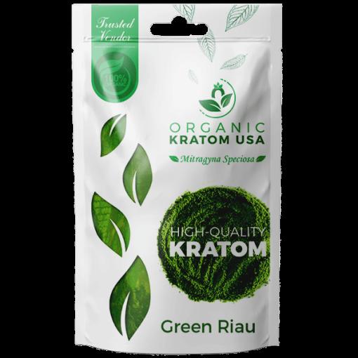 Green Riau Kratom Powder
