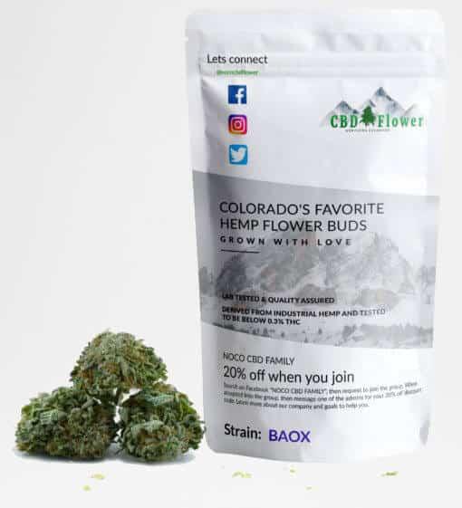 BAOX CBD Flower Buds