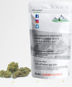 Cherry Citrus CBD Flower Buds