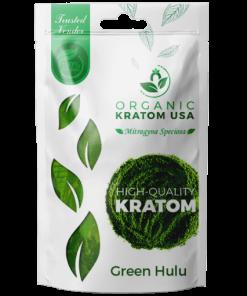 Green Hulu Kratom Powder