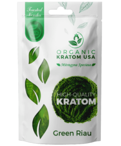 Green Riau Kratom Powder