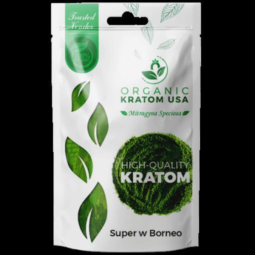 Super White Borneo Kratom Powder