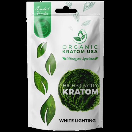 White Lightning Kratom Powder
