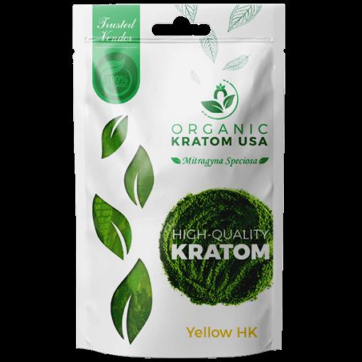 Yellow Hulu Kapuas Kratom Powder