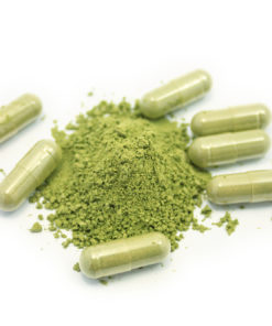 Green Malay Kratom Capsule