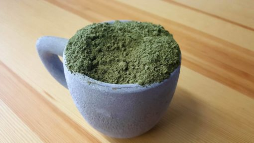 Green Hulu Kratom Powder