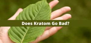 Does Kratom Go Bad?